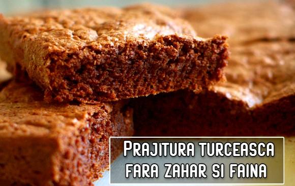 Prajitura turceasca, fara zahar si faina – din iaurt si banane