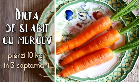 Dieta de slabit cu morcovi