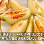 Pepenele galben - un adjuvant delicios in anemii, constipatii, tuberculoza, litiaza urinara, reumatism