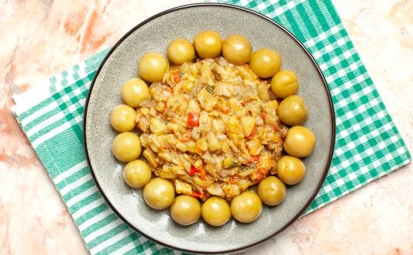Salata greceasca de vinete