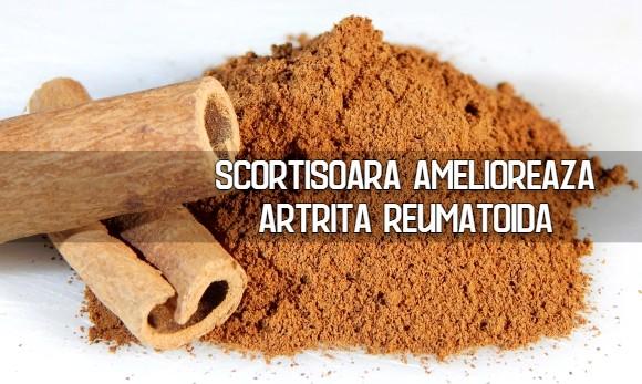 Scortisoara amelioreaza artrita reumatoida