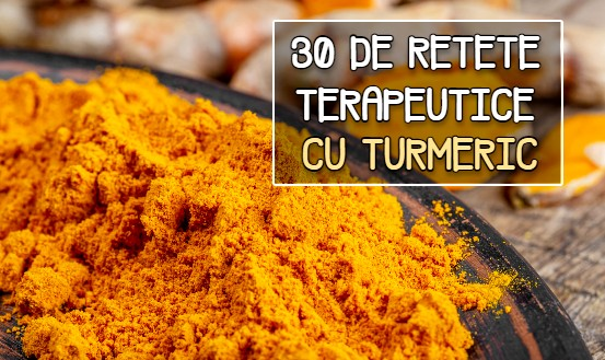 30 de retete terapeutice cu turmeric