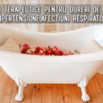 Bai terapeutice pentru dureri de oase, lumbago, hipertensiune, afectiuni respiratorii si cutanate