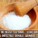 Baile de sezut cu sare – leac batânesc pentru infectiile renale, urinare, genitale