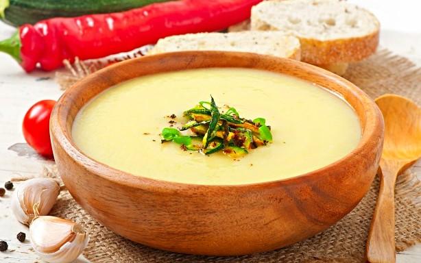 Supa crema de dovlecei