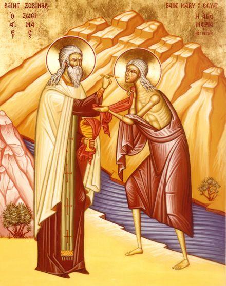 Sfânta Maria Egipteanca – Femeia Care Umbla Pe Apă