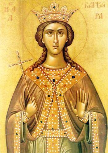 Sfânta Muceniţă Varvara – Mare Vindecătoare de Boli
