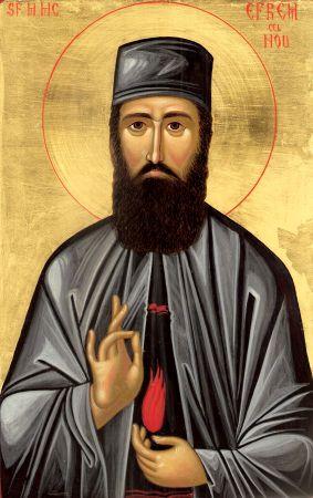 Sfântul Efrem Cel Nou – Grabnic Ajutător în Boli Incurabile şi La Examene