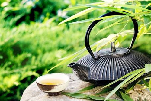 Outdoors Tea