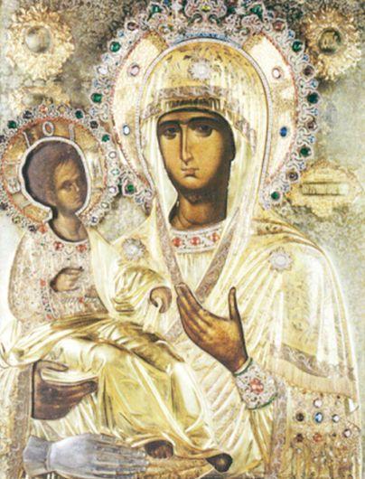 Icoana Maicii Domnului cu Trei Mâini