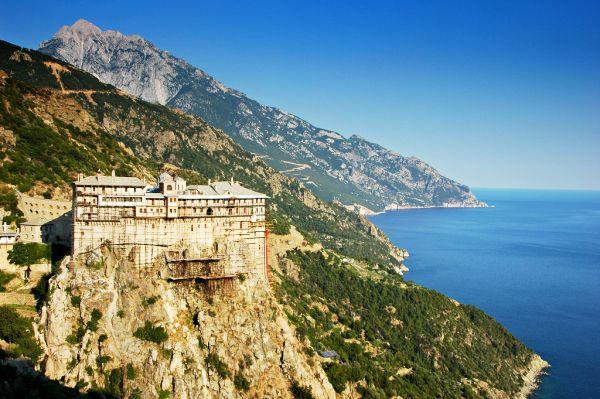 Mănăstirea Simonopetra (Simonos Petra) din Muntele Athos