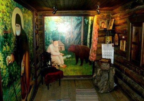Coliba Sfântului Serafim de Sarov