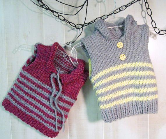 Tricotaje manuale pentru copii.