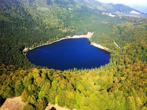 Lacul Sfânta Ana – Legendă, Descriere, Localizare