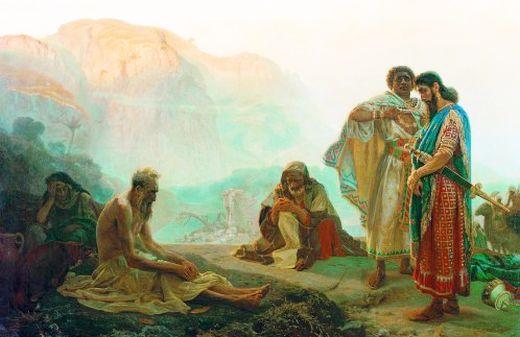 Sfântul și Dreptul Iov – Pildă de Răbdare și Smerenie în Încercări
