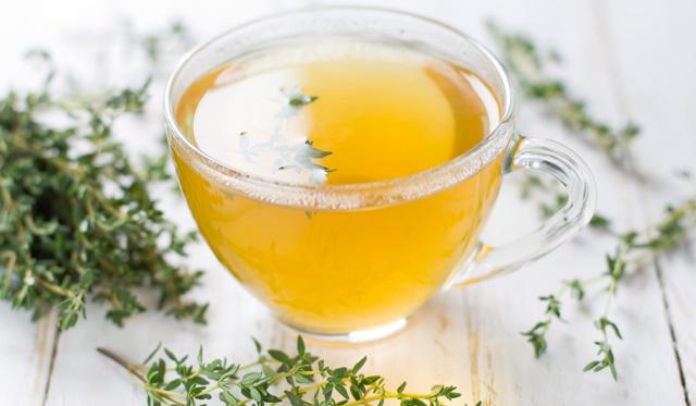 Ceai de Cimbru și Pătlagină - Astm și Bronșită
