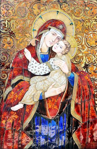 Icoana Maicii Domnului de la Patriarhie
