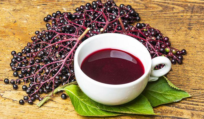 Ceai de Fructe de Soc