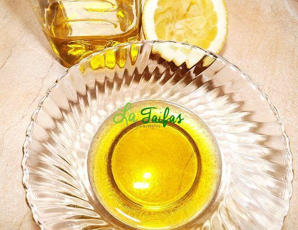 Ulei de Măsline cu Suc de Lămâie