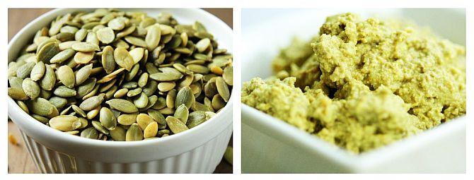 Pastă din Semințe de Dovleac