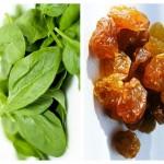 Salată de Spanac și Stafide