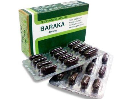 Baraka, mg, 24 capsule moi, Pharco