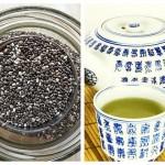 Ceai Verde cu Semințe de Chia