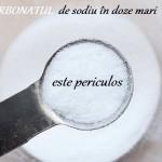 Bicarbonat de Sodiu - Efecte Secundare