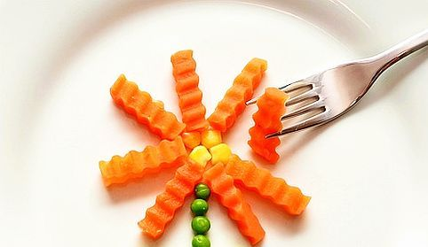 1 morcov pe zi