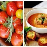Supă Rece de Roșii cu Busuioc