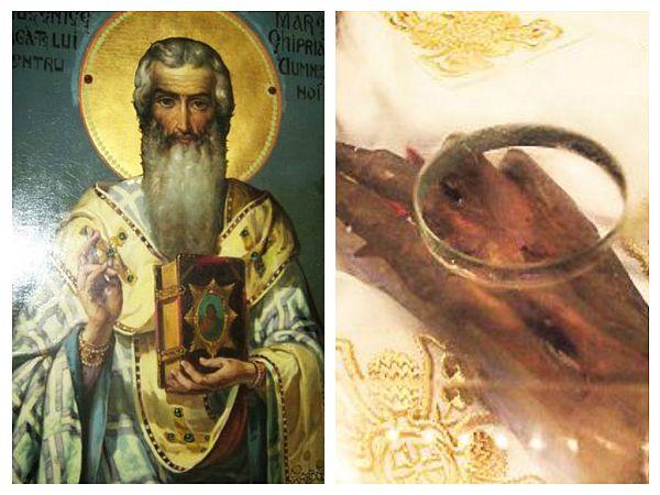 Sfântul Ciprian și Mâna Sfântului Ciprian