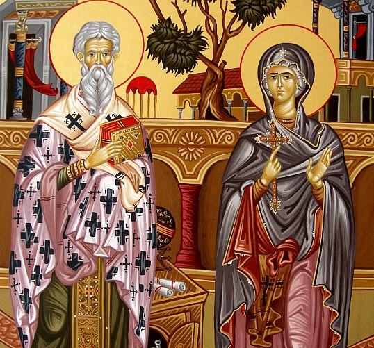 Sfinții Ciprian și Iustina (2 oct.)