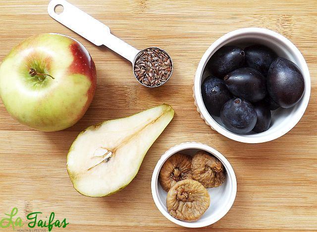 Suc Laxativ din Fructe Rețetă