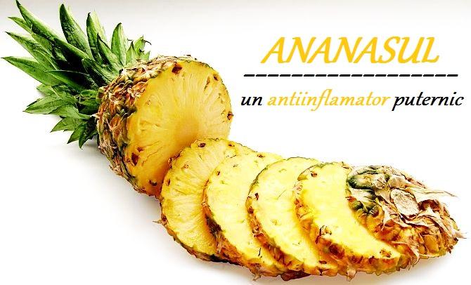 Ananasul Reduce Inflamațiile și Durerile
