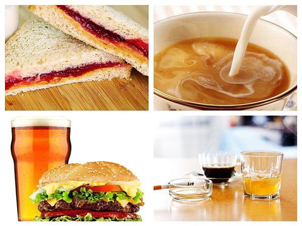 Combinații Alimentare Periculoase