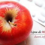 Lipsa de Magneziu - Inflamații și Dureri