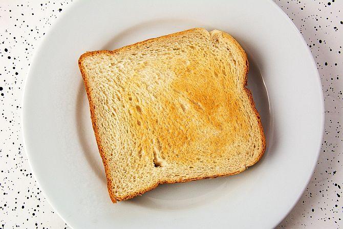 painea prajita ingrasa sau slabeste