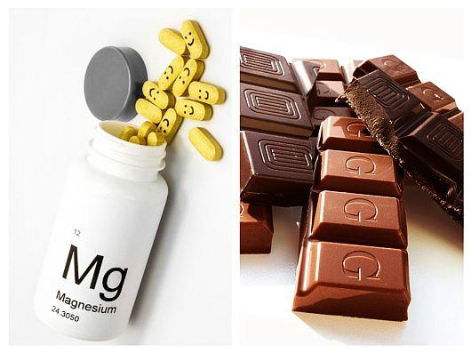 Pofta de Ciocolată - Lipsă de Magneziu