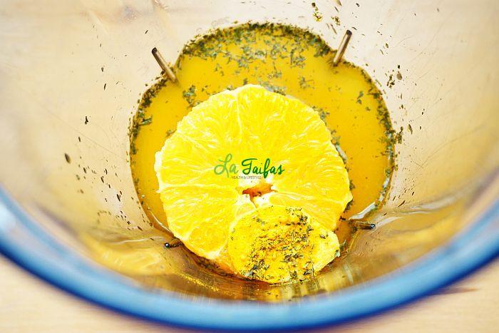 Suc de Portocale și Ghimbir