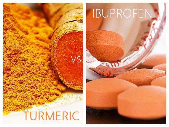 Turmeric vs. Ibuprofen