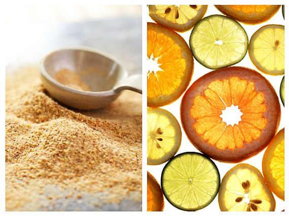 Vitamina C din Coji de Citrice