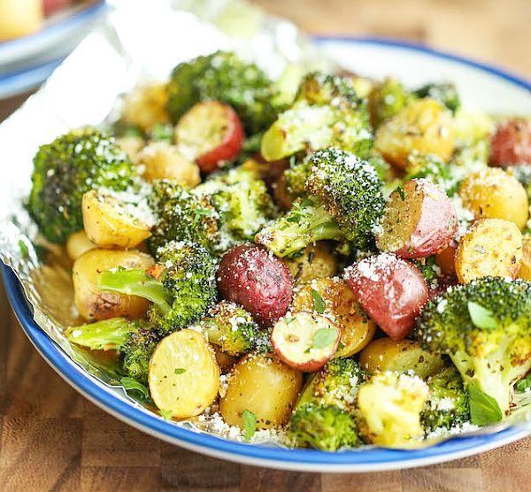 Broccoli la Cuptor cu Cartofi