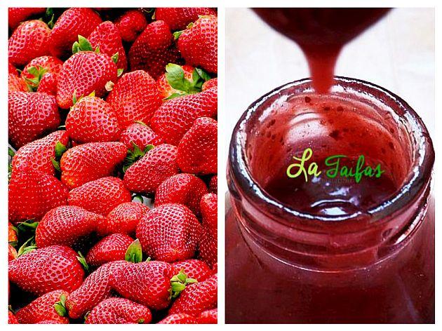 Sirop de Căpșuni cu Miere