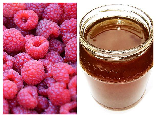 Elixir din zmeură și miere