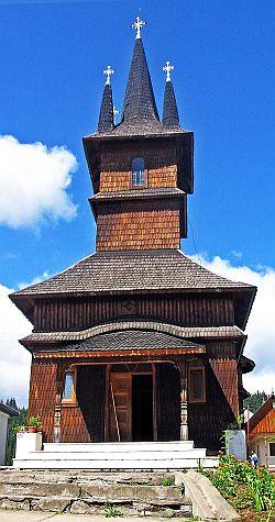 Biserica de Lemn - Mănăstirea Oașa - Alba-Iulia