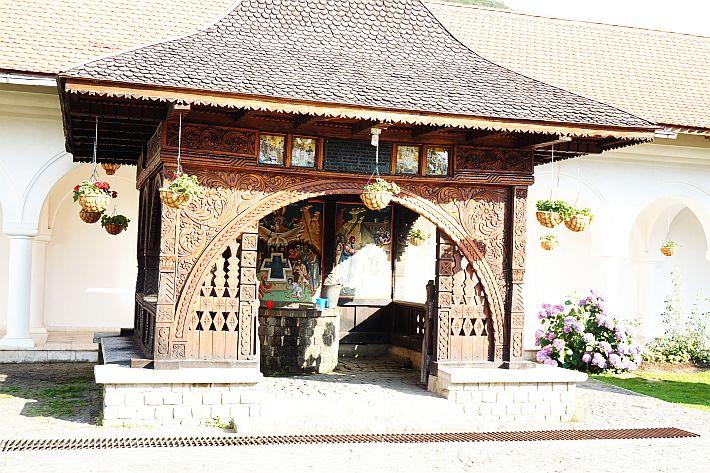 Fântâna Tămăduirii Mănăstirea Brâncoveanu