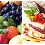 Fructe vs. Dulciuri