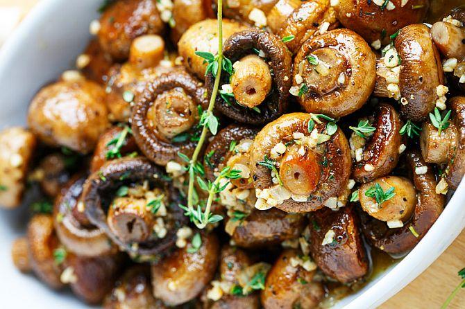 Ciuperci umplute. 5 rețete de ciuperci umplute gustoase