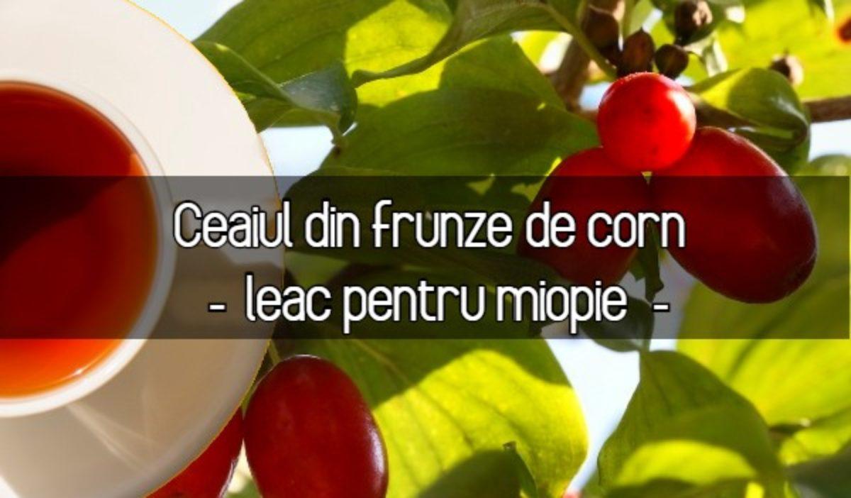 frunzele de ceai ajută vederea)
