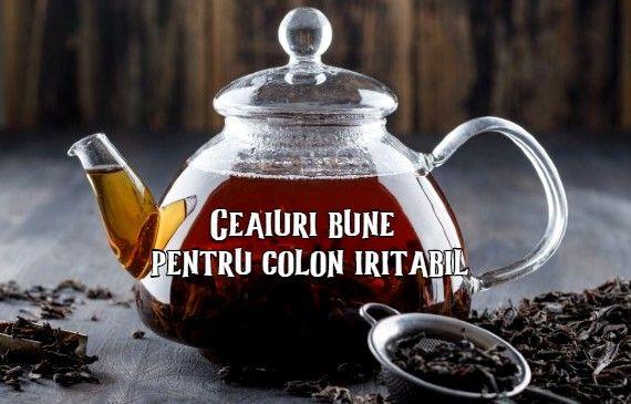 ceai pt colon iritabil